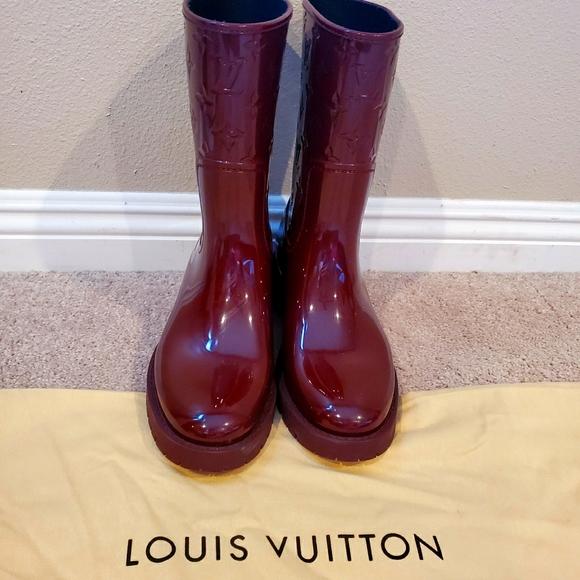 Louis Vuitton Drops Flat Half Boot